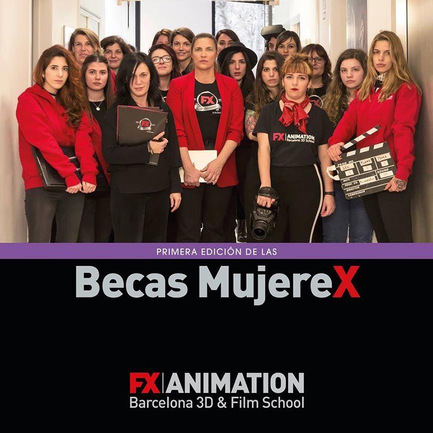 Beca Mujerex - Flyer