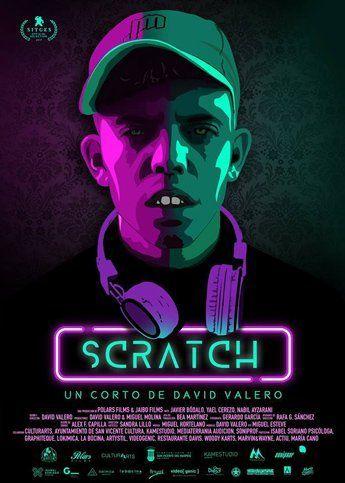 FX ANIMATION en el Festival de Málaga - Scratch (Cartel)