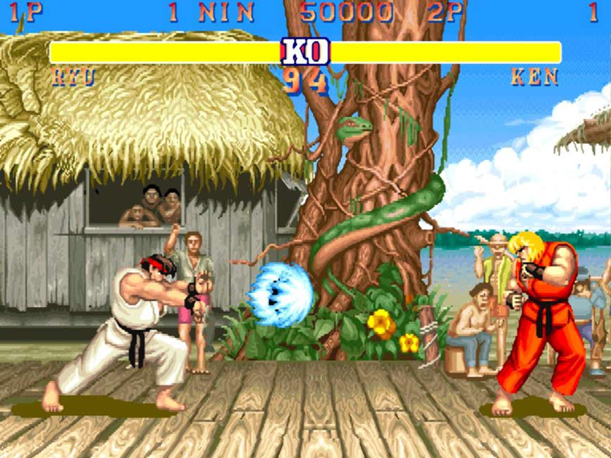 Ready Player One - Street Fighter II