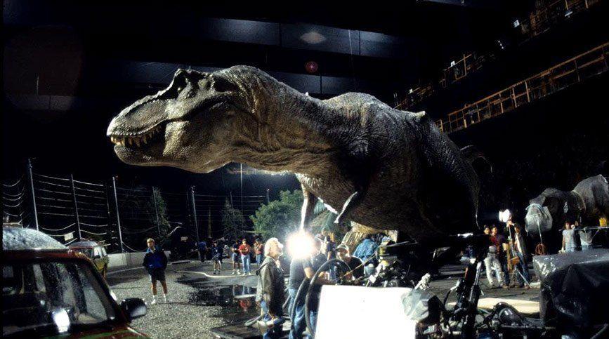 Curso de FX, VFX y CGI en FX ANIMATION - Rodaje de Jurassic Park