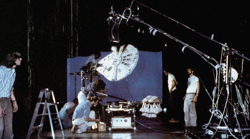 Curso de FX, VFX y CGI en FX ANIMATION - Rodaje de Star Wars (1977)