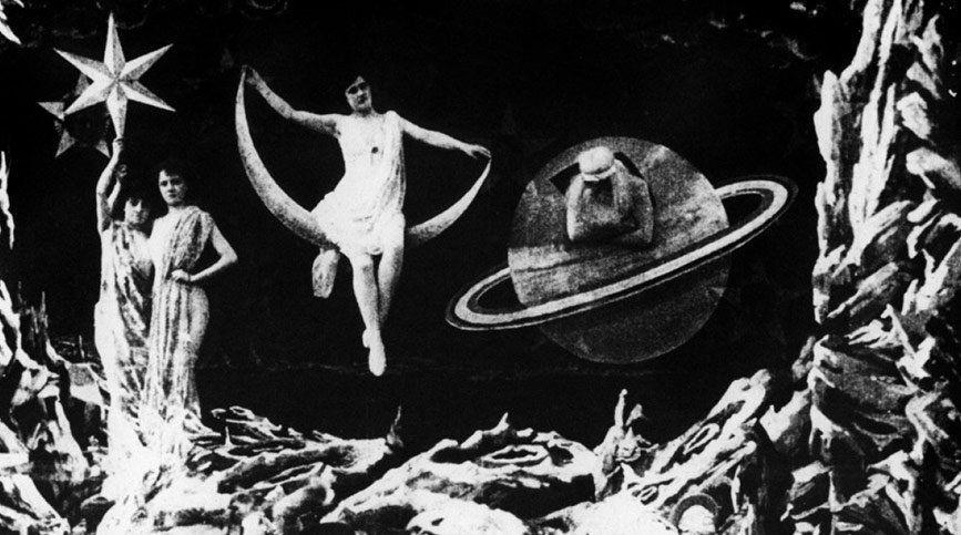 Curso de FX, VFX y CGI en FX ANIMATION - Le Voyage dans la Lune (B/N)