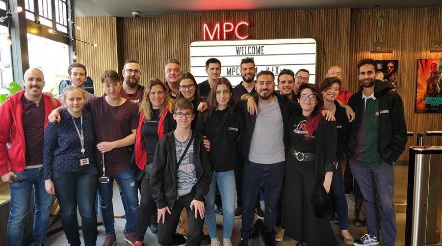 FX Stage en Londres, una gran experiencia profesional - Visita MPC