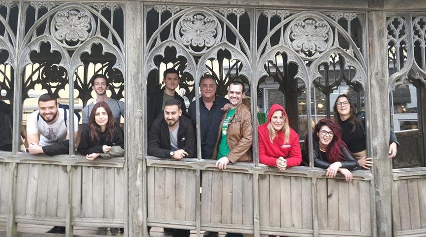 FX Stage en Londres, una gran experiencia profesional - Visita Studio WB Harry Potter