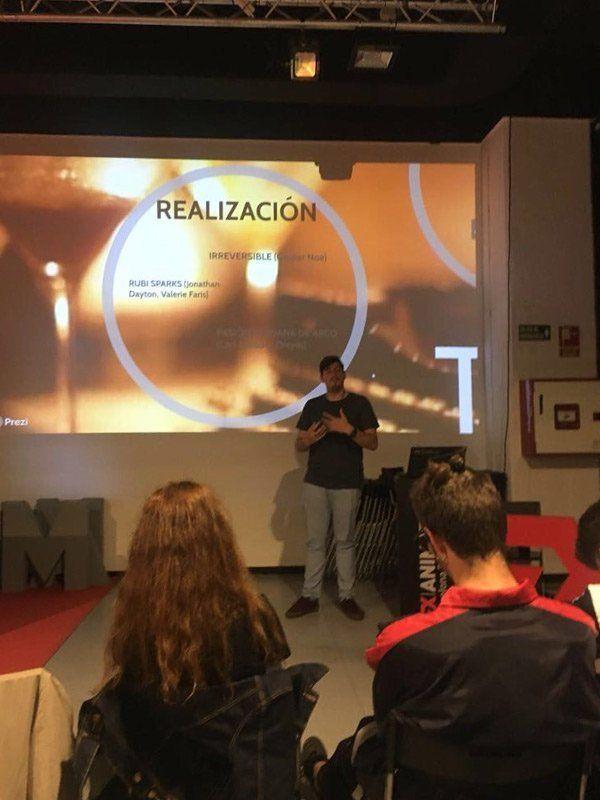 Pitching o el arte de vender tu proyecto audiovisual - Presentación alumnos