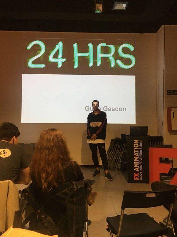 Pitching o el arte de vender tu proyecto audiovisual - Presentación 24 Hrs