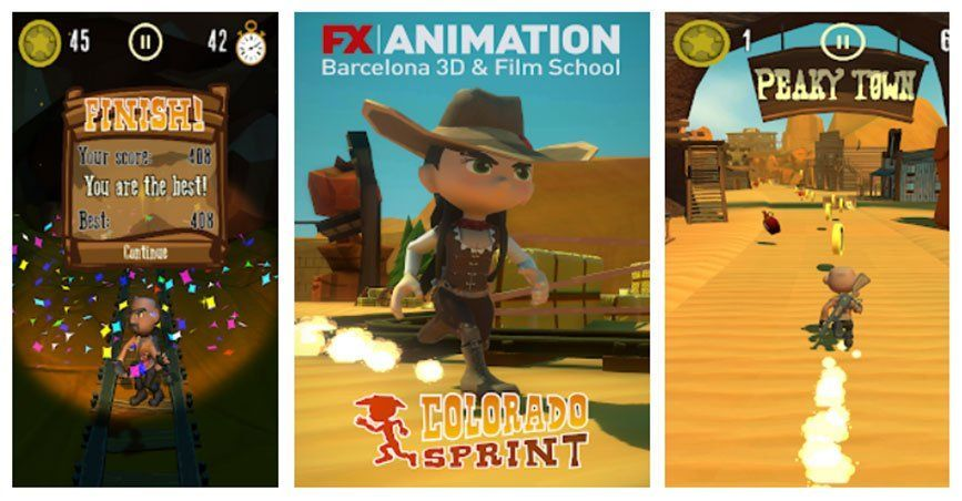 Videojuegos de FX ANIMATION - FXRunner Colorado Sprint