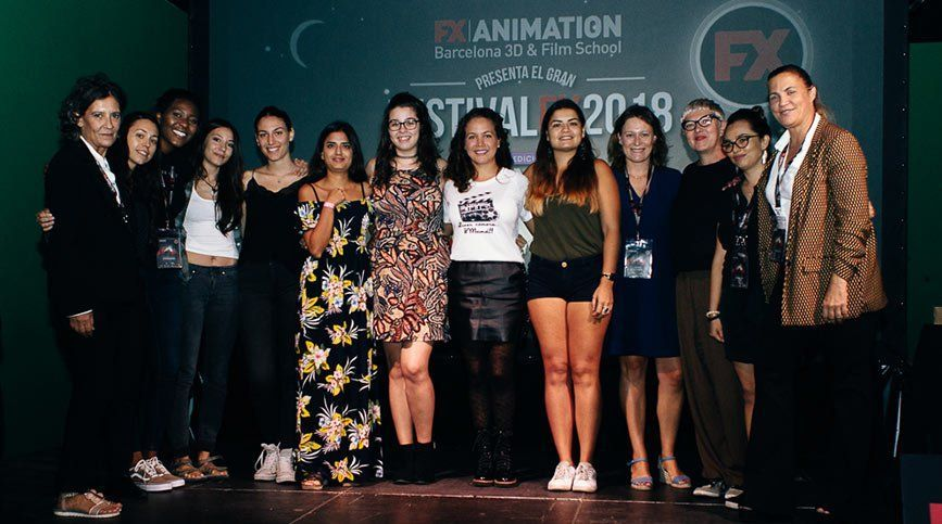 Así fue el Festival FX ANIMATION 2018 - Becas MujereX