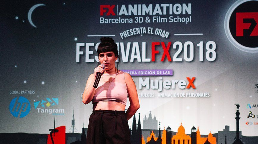 Así fue el Festival FX ANIMATION 2018 - Cristina Díaz-Madroñero