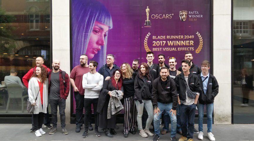 Apúntate al FX Stage Londres 2019 - Visita a DNEG