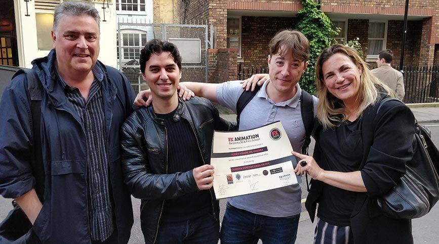 Apúntate al FX Stage Londres 2019 - MPC Diploma Rubén Hinarejos