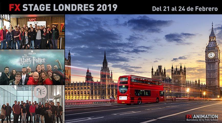 Apúntate al FX Stage Londres 2019 - Portada