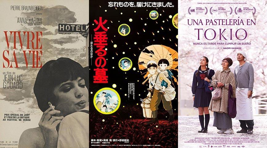 Miradas de Cine, taller de análisis cinematográfico - Carteleras 2