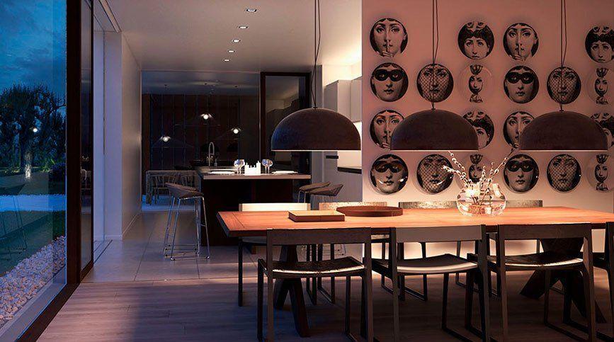 Realidad virtual para visualización arquitectónica - Casa del bosque (Interior)