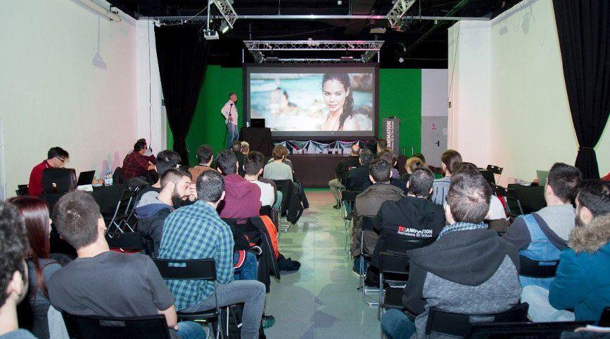 Vive el Fórum FX Animation 2018 con nosotros - Proyeccion