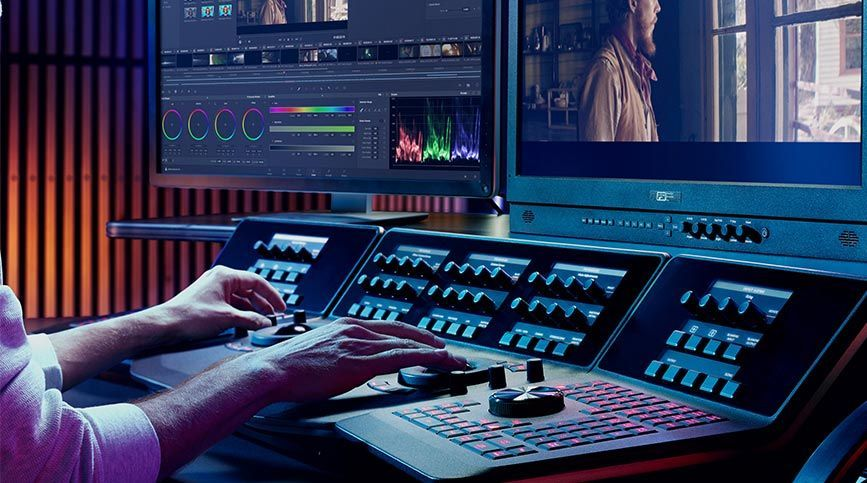 Estudia DaVinci Resolve - Equipo