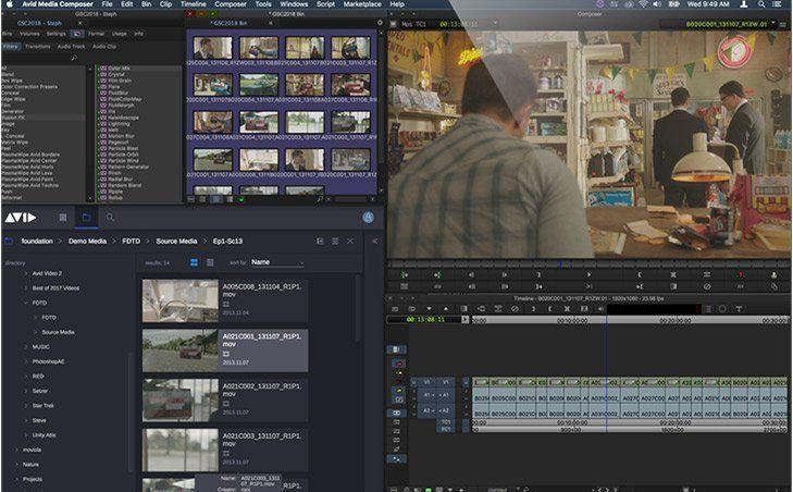Máster en Edición y Montaje Audiovisual - Avid