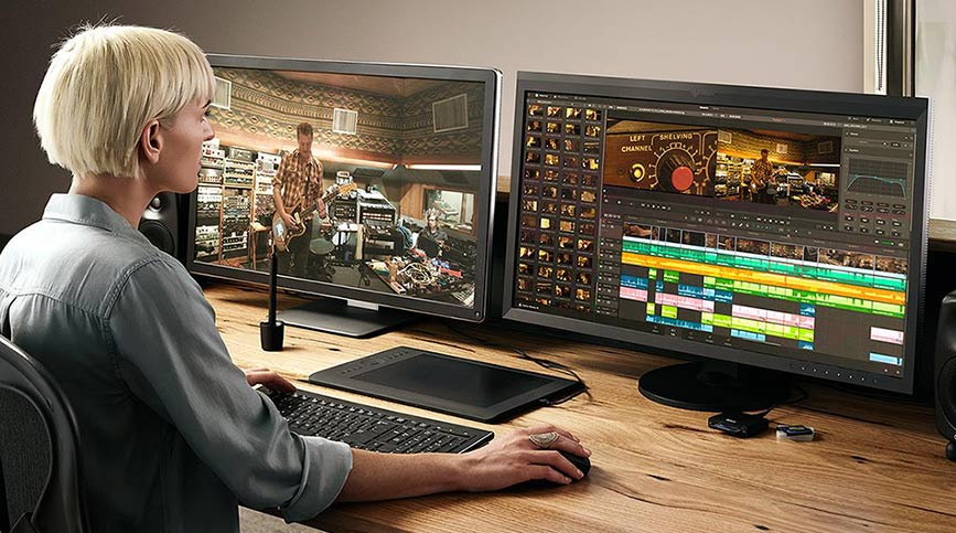 Postproducción audiovisual: qué es y por qué requiere especializarse - DaVinci Resolve