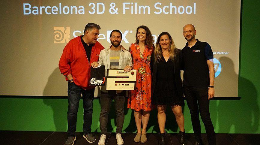 SideFX visita FX ANIMATION como escuela certificada en Houdini - Diplomas
