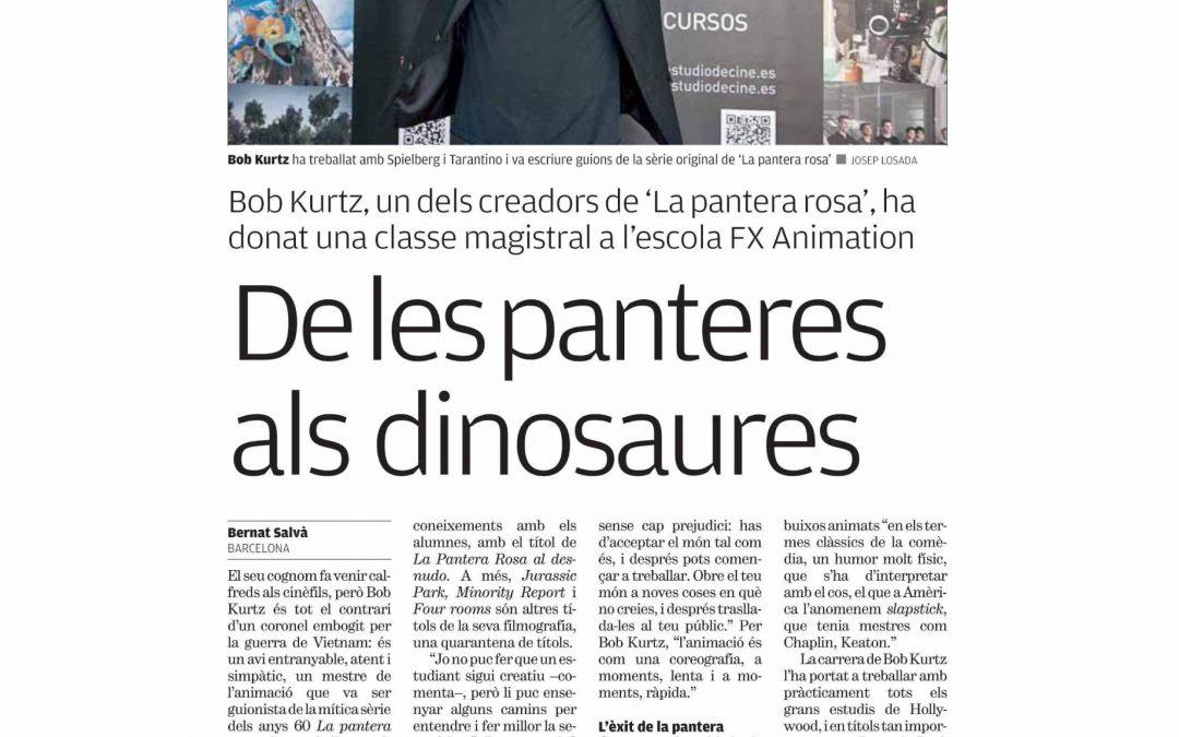 Bob Kurtz, visita FX Animation