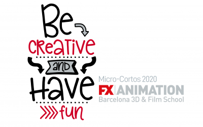 I Concurso de mini cortometrajes BE CREATIVE & HAVE FUN de FX ANIMATION