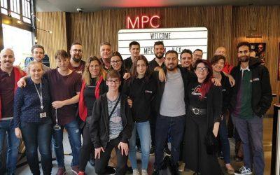 ¡Así fue la visita a los estudios de efectos visuales MPC!