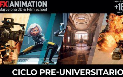¿Cómo es un ciclo pre-universitario en Cine y Animación? Te contamos en qué consiste nuestro grado medio