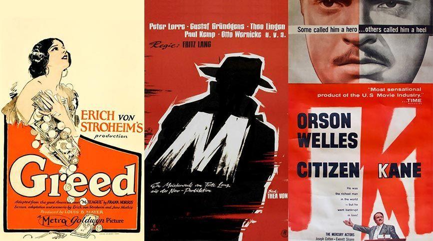 Miradas de Cine, taller de análisis cinematográfico - Carteleras 1