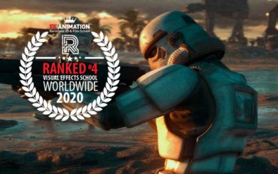 FX Animation anunciada como la Mejor Escuela en VFX de EUROPA