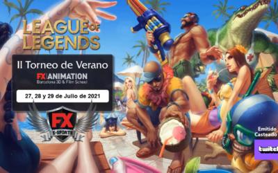 2ª TORNEO DE VERANO de eSports de FX ANIMATION